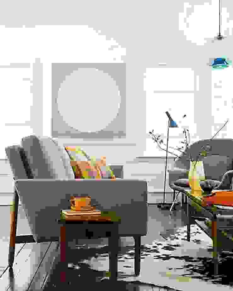Sofa Raleigh de Design Within Reach Mexico Moderno Algodón Rojo