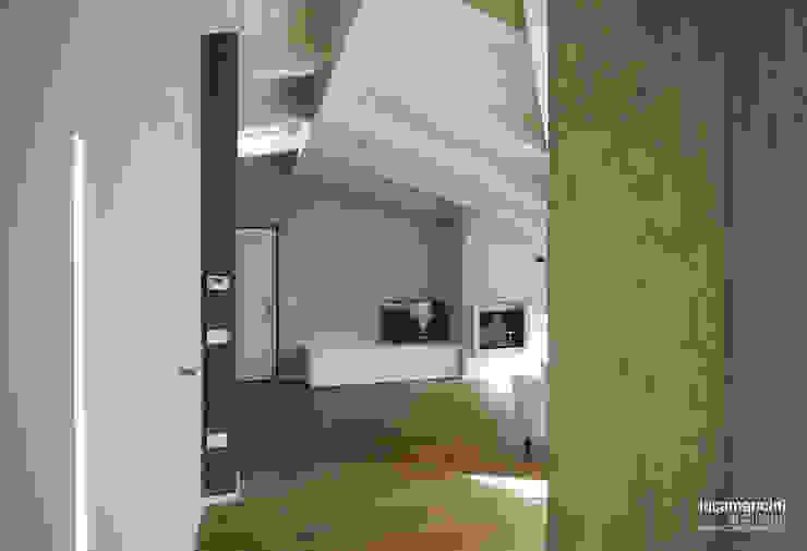 Mansarda Soggiorno moderno di Luca Mancini | Architetto Moderno