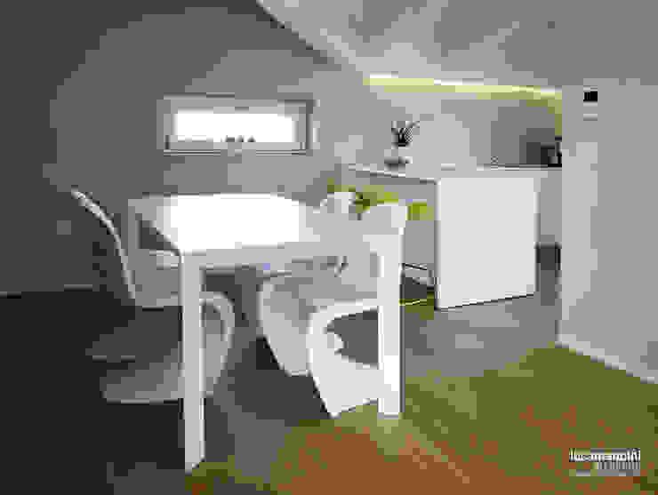 Mansarda Cucina moderna di Luca Mancini | Architetto Moderno