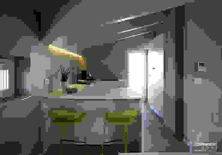 Cocinas de estilo moderno de Luca Mancini | Architetto Moderno