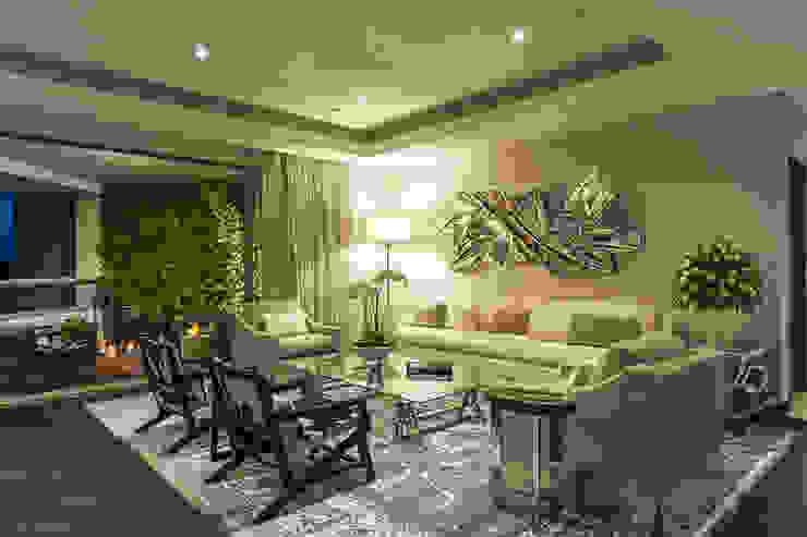 DEPARTAMENTO EN LOMAS Salones clásicos de HO arquitectura de interiores Clásico