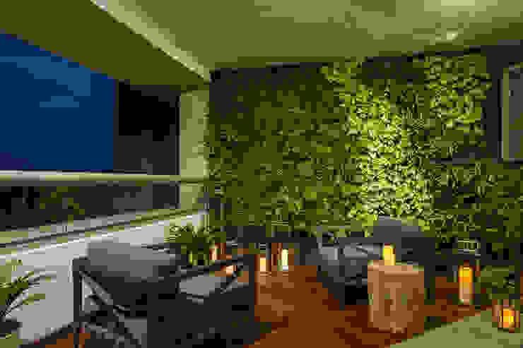 HO arquitectura de interiores Klassischer Balkon, Veranda & Terrasse