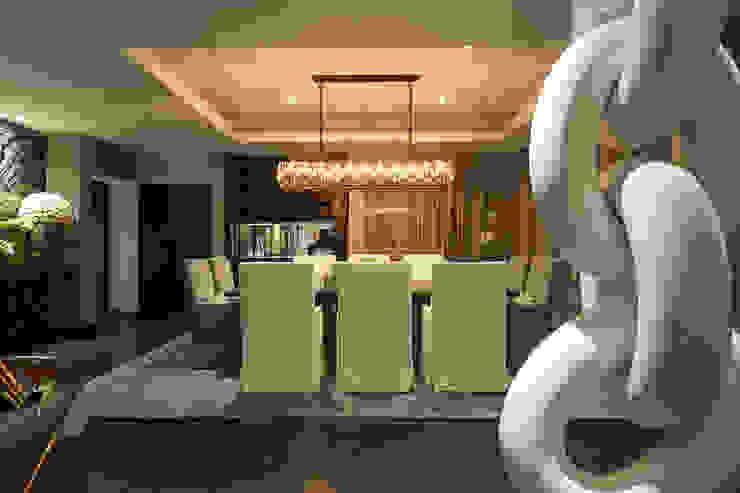DEPARTAMENTO EN LOMAS Comedores clásicos de HO arquitectura de interiores Clásico