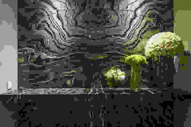 DEPARTAMENTO EN LOMAS Pasillos, vestíbulos y escaleras clásicas de HO arquitectura de interiores Clásico