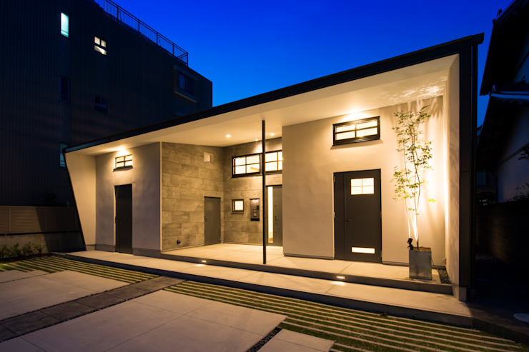 Houses by Sakurayama-Architect-Design, Modern