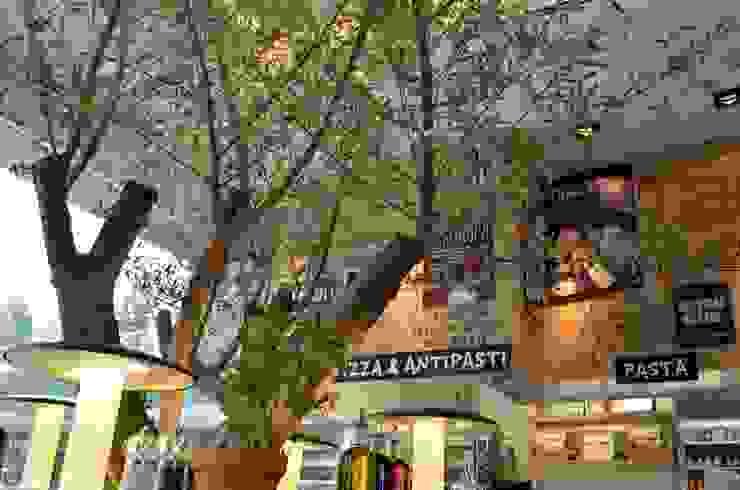 VAPIANO PARQUE TOREO Espacios comerciales de estilo mediterráneo de Sulkin Askenazi Mediterráneo