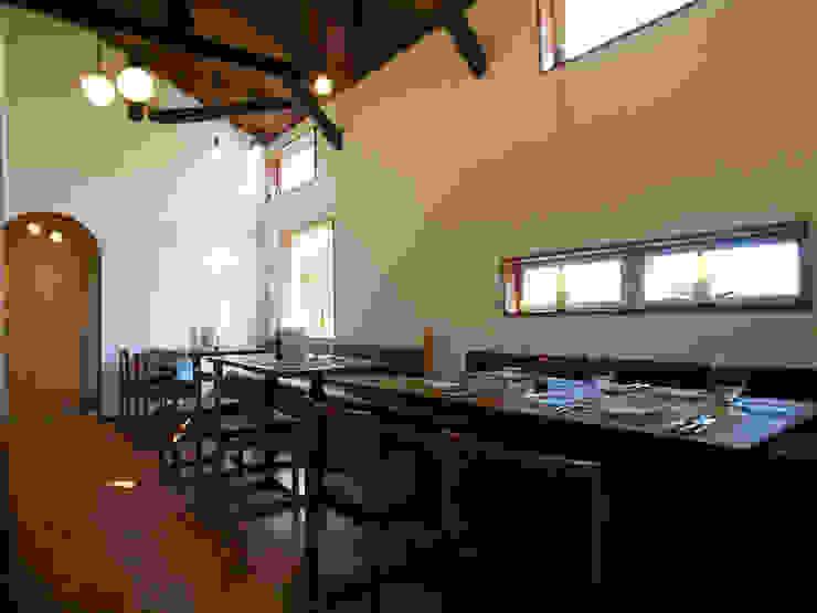 祐成大秀建築設計事務所 Gastronomie scandinave Bois massif Effet bois