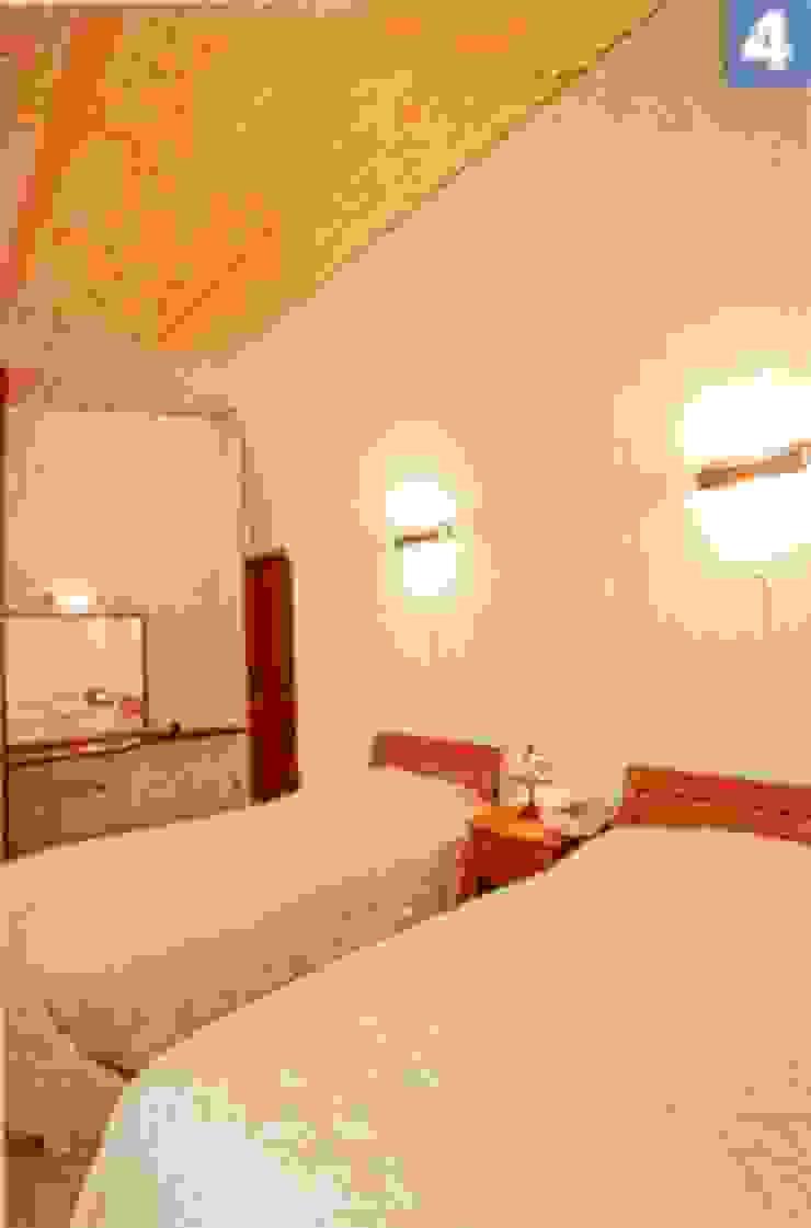ベッドル-ム モダンスタイルの寝室 の 一級建築士事務所ATELIER-LOCUS モダン 木 木目調