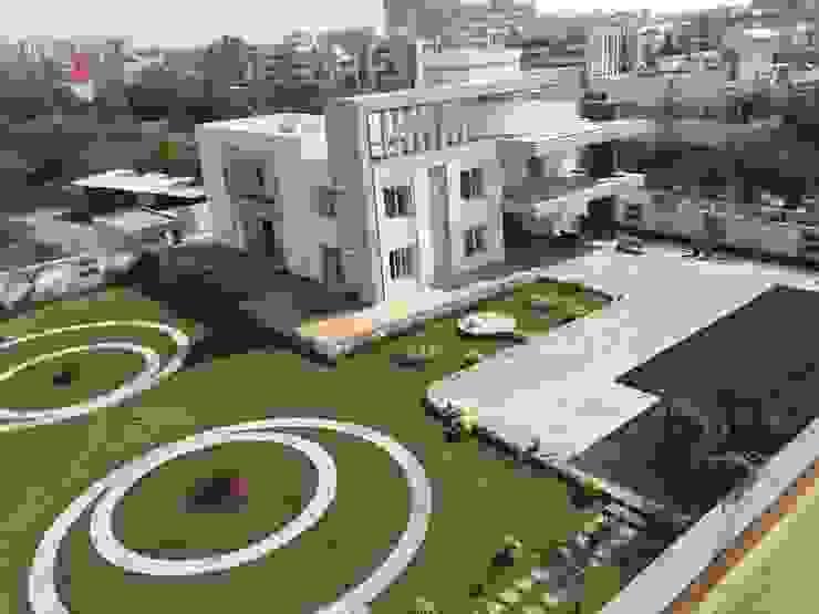Villa At Pune Modern garden by ACA Architects Modern