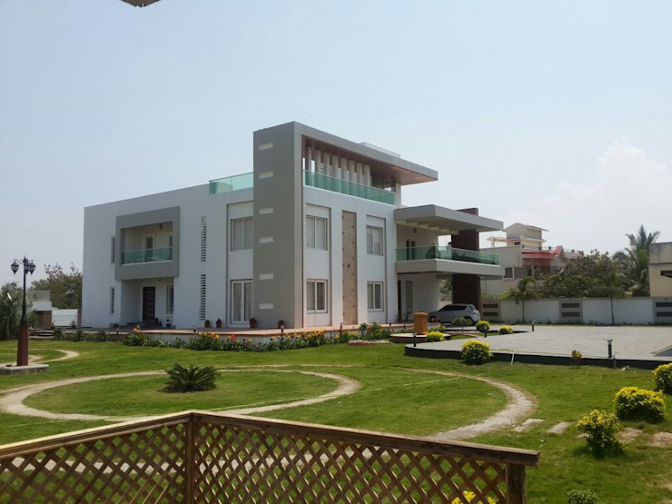 Villa At Pune Modern houses by ACA Architects Modern