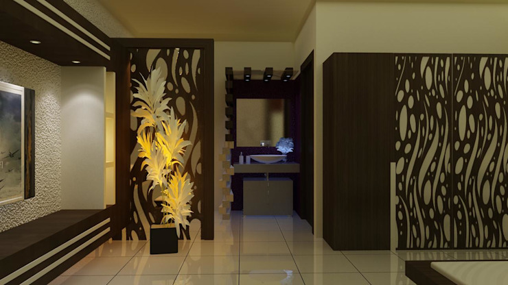 Bed Room: asian  by Amera Engineering and Consultancy India Pvt. Ltd.,Asian Plywood
