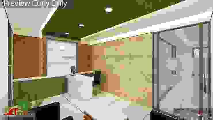 Villa At Pune Modern study/office by ACA Architects Modern