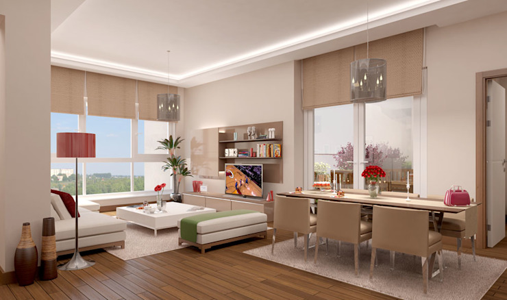 Modern dining room by CCT INVESTMENTS Modern