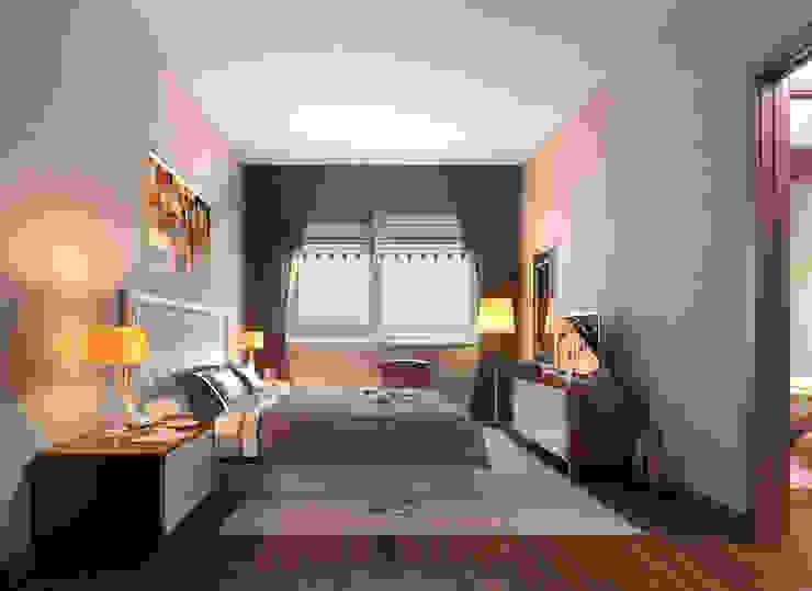 CCT 146 Project in Maslak Modern Yatak Odası CCT INVESTMENTS Modern