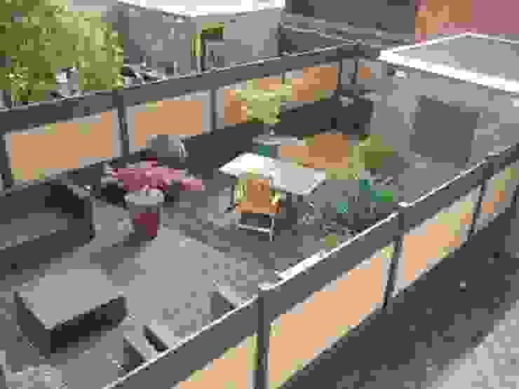 Modern Garden by Kuiper Schuttingen Modern