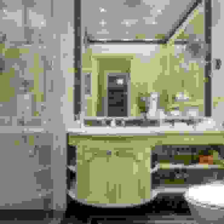 Классический интерьер и Умный дом – квартира-мечта! Ванная в классическом стиле от Art-In Классический
