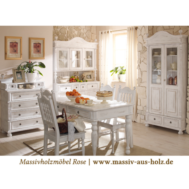 Country style kitchen by Massiv aus Holz Country Solid Wood Multicolored