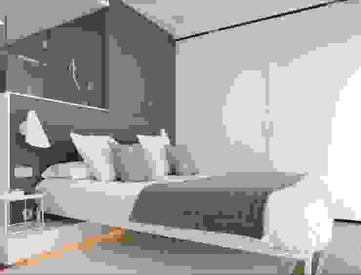 Camera da letto minimalista di ruiz narvaiza associats sl Minimalista