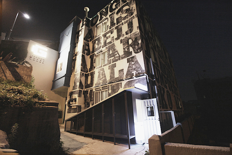 이태원 G-house 러스틱 스타일 호텔 by 건축집단 MA 러스틱 (Rustic)