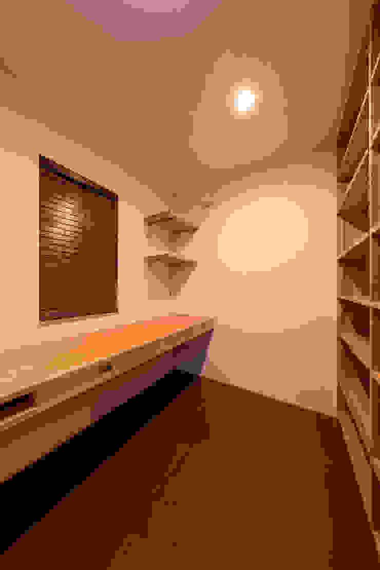 松本の家。 モダンデザインの 書斎 の 株式会社ルティロワ 一級建築士事務所 モダン