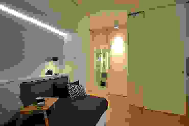 Ferienwohnung Moderne Wohnzimmer von KJUBiK Innenarchitektur Modern