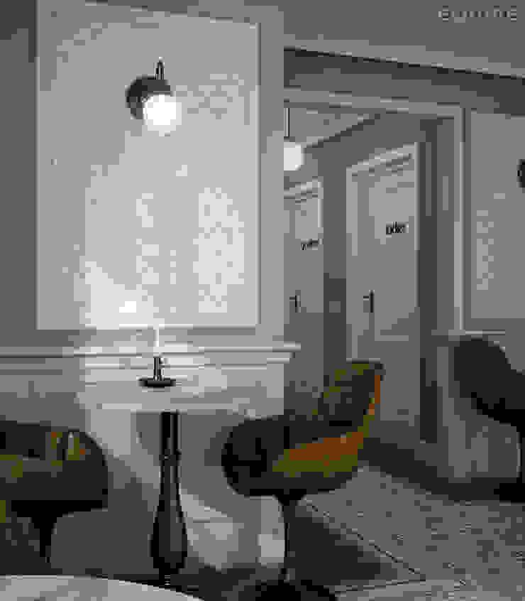 Scale Fan Salones de estilo ecléctico de Equipe Ceramicas Ecléctico Cerámico