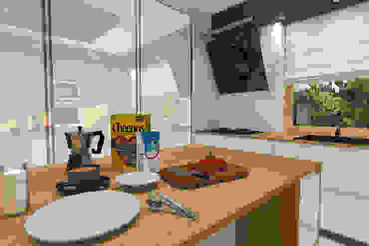 Modern kitchen by ABC Pracownia Projektowa Bożena Nosiła Modern