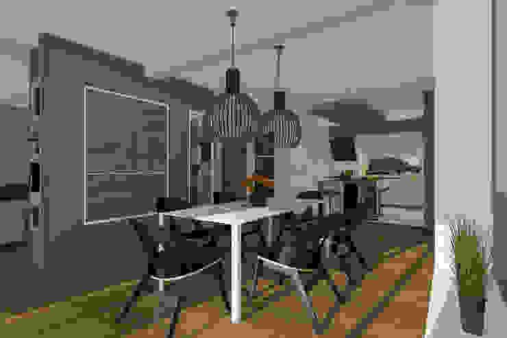 Modern Dining Room by ABC Pracownia Projektowa Bożena Nosiła Modern