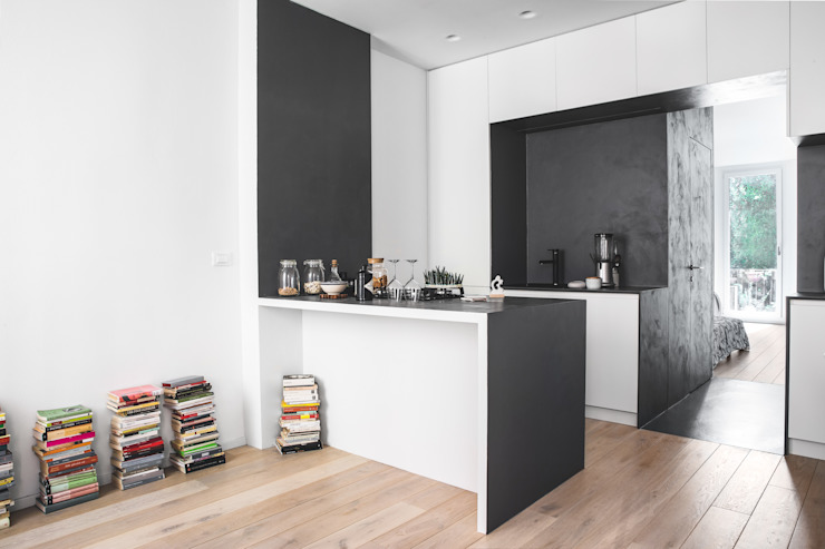 Kitchen by MIROarchitetti, Modern Wood Wood effect