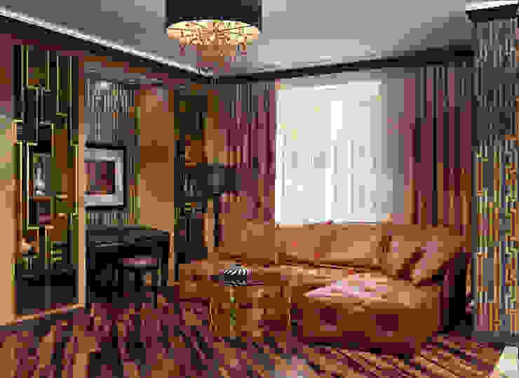 Salon moderne par Alena Gorskaya Design Studio Moderne