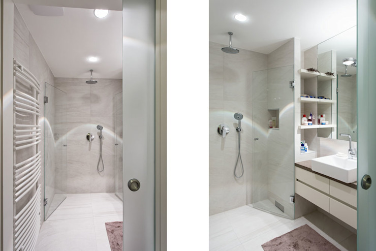 wohnen im ersten Moderne Badezimmer von Atelier Fürtner-Tonn Modern