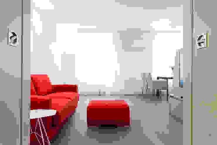 wohnen im ersten Moderne Wohnzimmer von Atelier Fürtner-Tonn Modern
