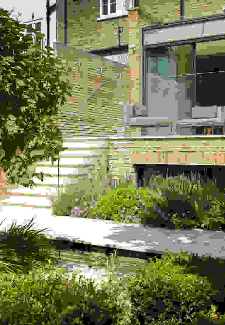 Garden Terrace at Newton Road House in Westbourne Grove Nash Baker Architects Ltd Modern terrace
