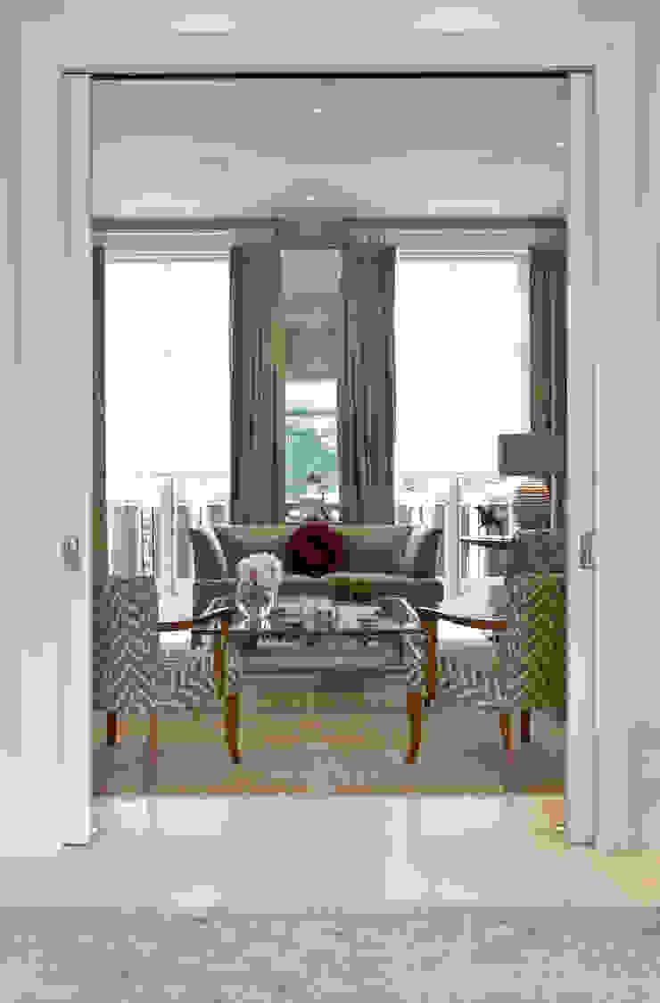 The Living Room at Newton Road. Nash Baker Architects Ltd Modern living room