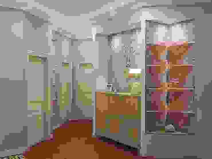 Alena Gorskaya Design Studio Flur, Diele & Treppenhaus im Landhausstil