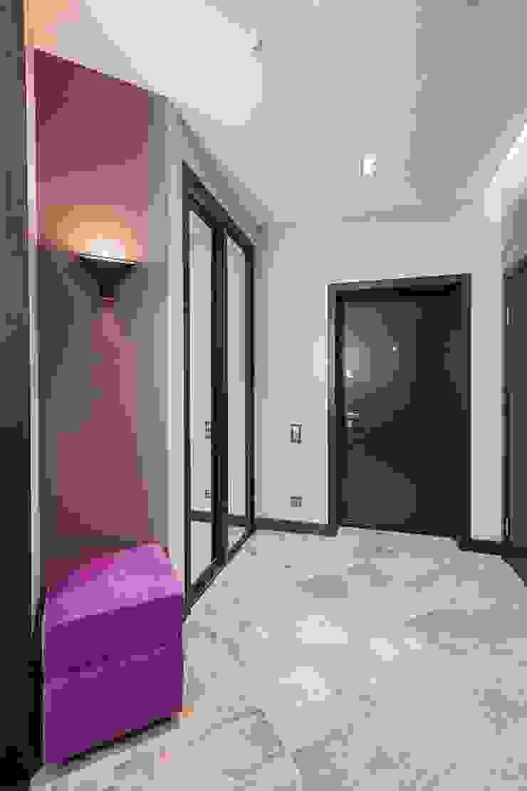 Minimalist Koridor, Hol & Merdivenler Alena Gorskaya Design Studio Minimalist