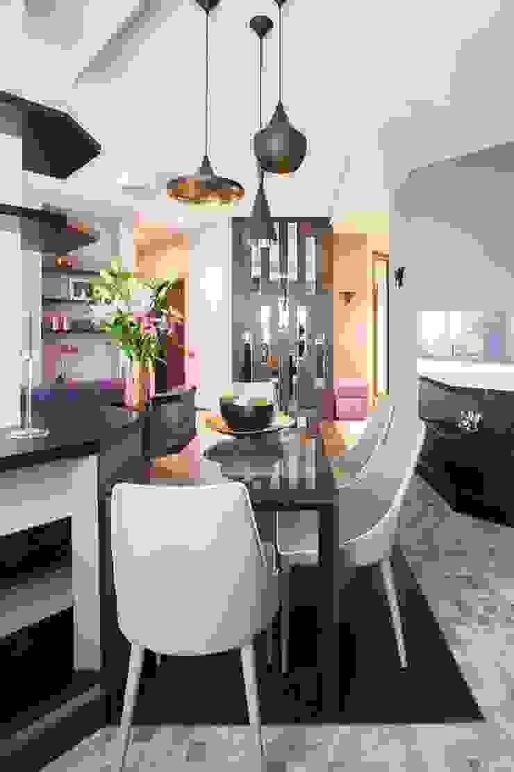 Salas de jantar minimalistas por Alena Gorskaya Design Studio Minimalista