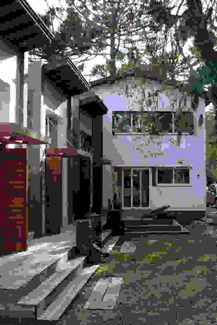 Squadra Arquitetura Modern houses Engineered Wood Wood effect