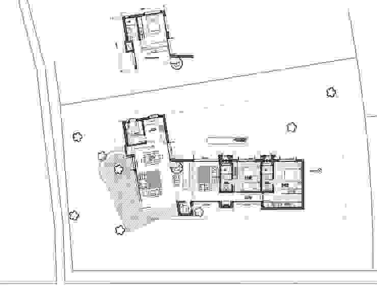 Residência RLC por Squadra Arquitetura Moderno