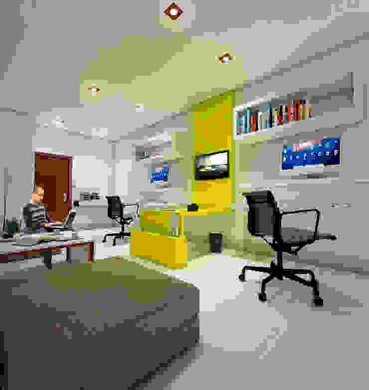Oficina de arquitectura Estudios y oficinas minimalistas de Estudio 26 Minimalista