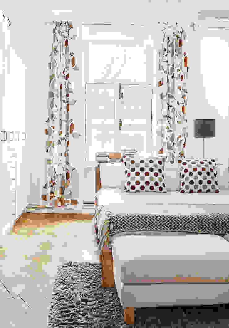 Шведский дом в Москве Спальня в скандинавском стиле от K-Studio Скандинавский