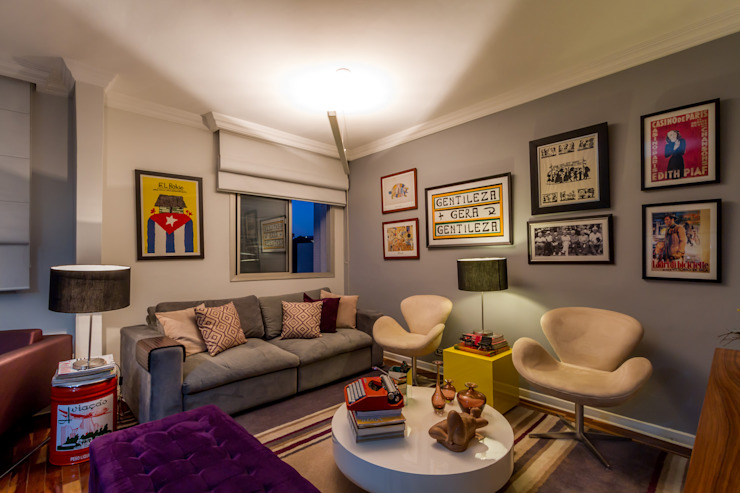 Living Salas de estar modernas por contato83 Moderno