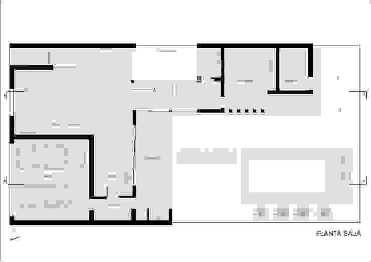 Modern houses by Ronda Estudio Modern