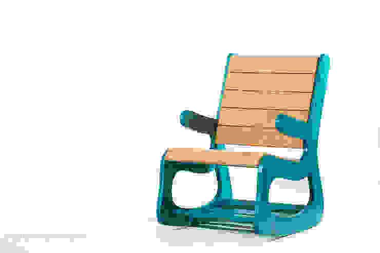 Cadeira Balance por Likecork Moderno Cortiça