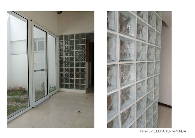 Modern corridor, hallway & stairs by Ronda Estudio Modern