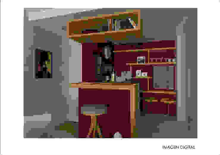 DEPARTAMENTO CENTRO Cocinas modernas: Ideas, imágenes y decoración de Ronda Estudio Moderno
