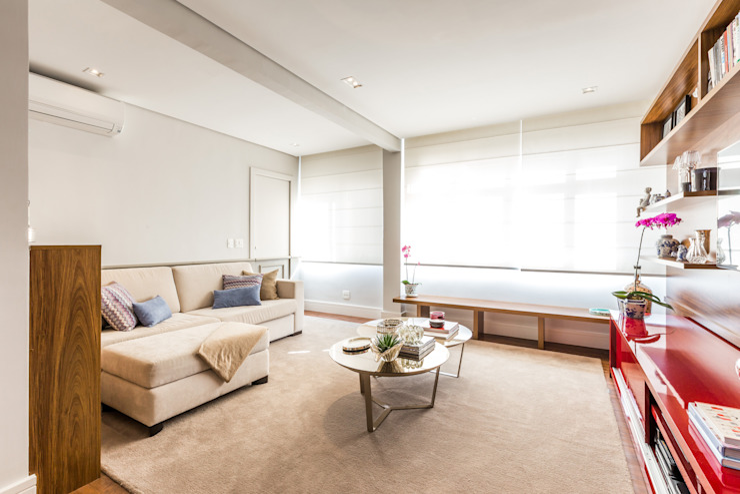 Vila Nova Salas de estar modernas por contato83 Moderno