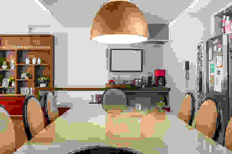 Vila Nova Salas de jantar modernas por contato83 Moderno
