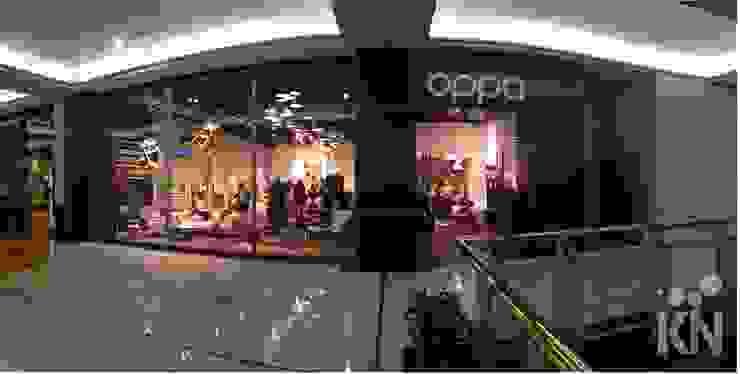 Oppa Pop Up Store - SP Market Place | SP Lojas & Imóveis comerciais modernos por KN Arquitetura Moderno