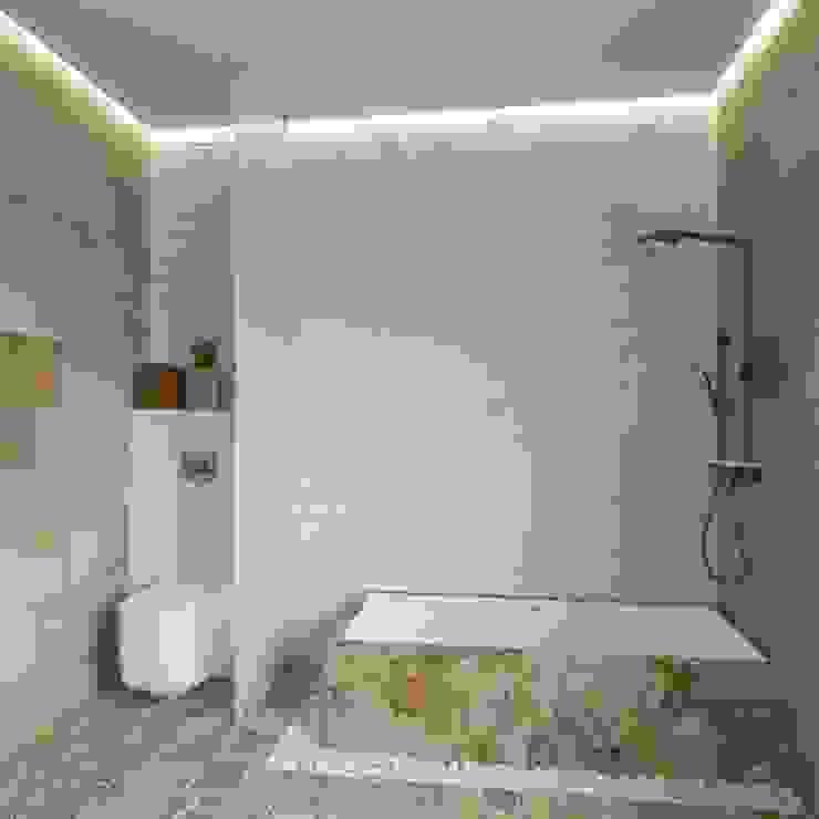 Bagno in stile industriale di Tatiana Zaitseva Design Studio Industrial